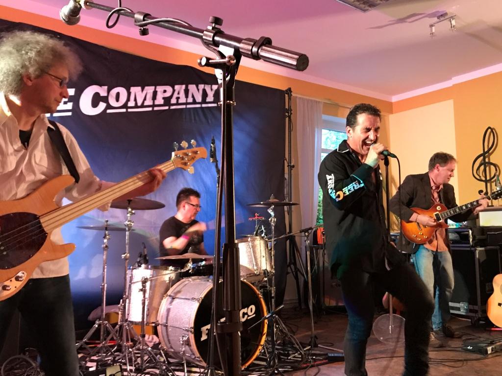 Free Company live 2017 mit Rock Musik zur Geburtstags-Party